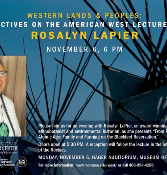 Western Lands and Peoples Annual Lecture Series